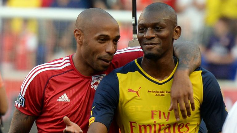Abou Diaby: Played against Thierry Henry's New York Red Bulls