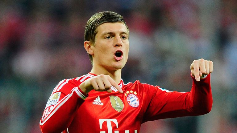 Toni Kroos: Looks set to join Real Madrid from Bayern Munich