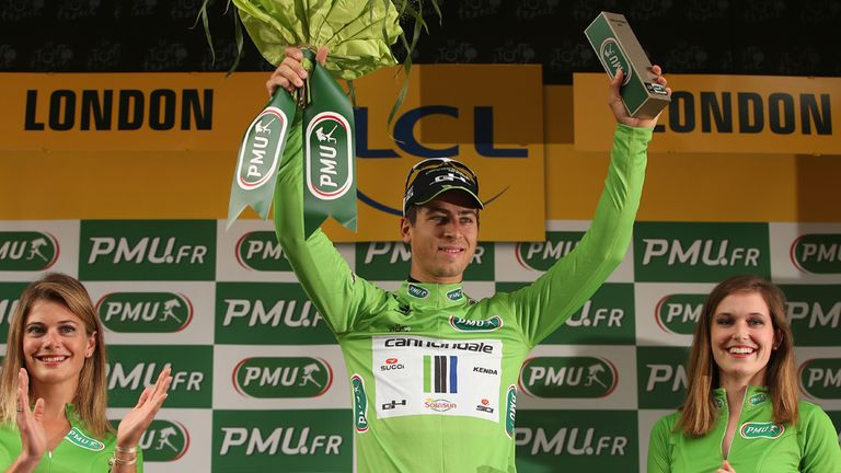 Peter Sagan: Impressive new signing for Tinkoff-Saxo