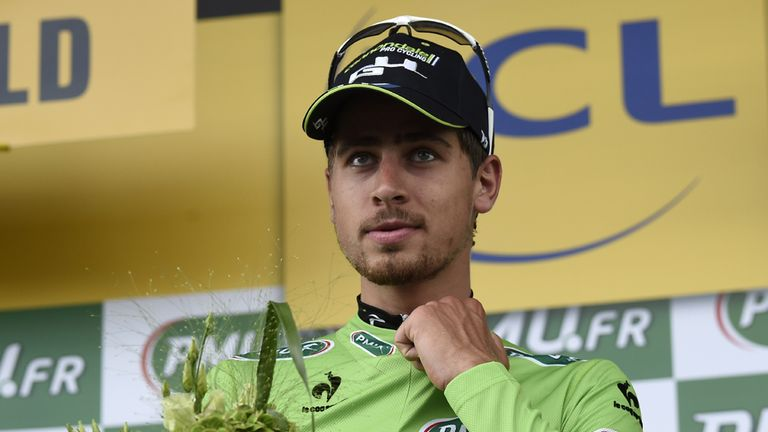 Peter Sagan has finished out of the top ten on only three stages so far this year