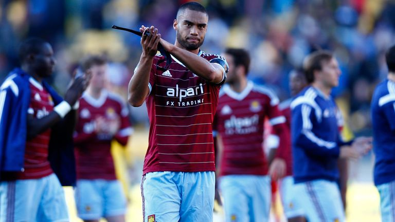 Winston Reid: Applauds fans