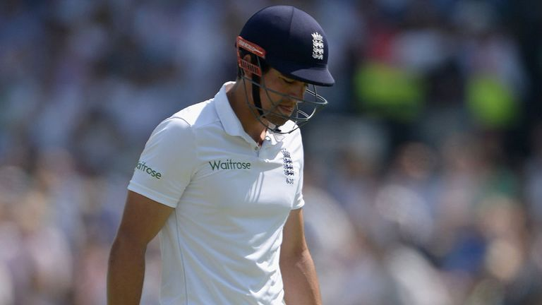 Alastair Cook: No Test hundred in 27 innings