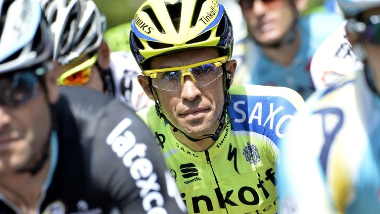 Spain's Alberto Contador is set to start the 2014 Vuelta a Espana