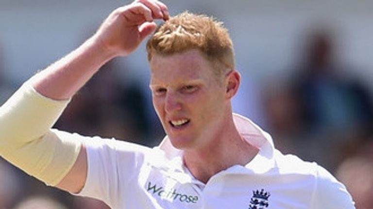Ben Stokes: Frustrated