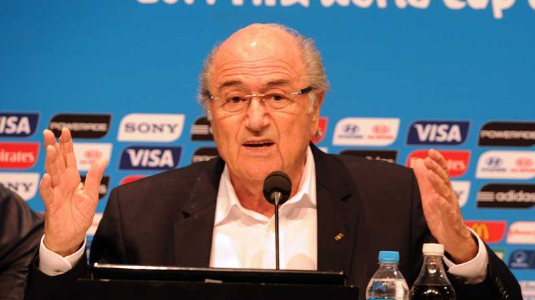 Sepp Blatter: FIFA president casts doubt on Russia's plans