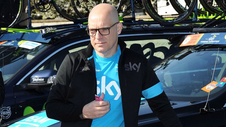 Sir Dave Brailsford described Richie Porte as a 'fantastic plan B'