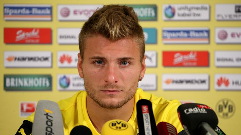 Ciro Immobile: At Thursday's press conference