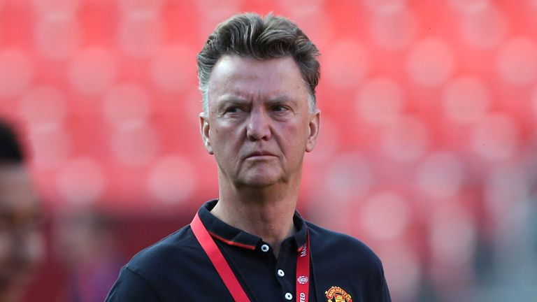 Louis Van Gaal Says He Is Content With Manchester United