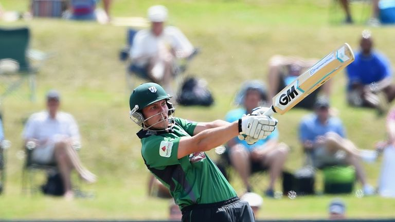 Tom Fell: Top-scored for Worcestershire at Milton Keynes with 72