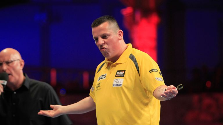 Dave Chisnall: Big win over Phil Taylor