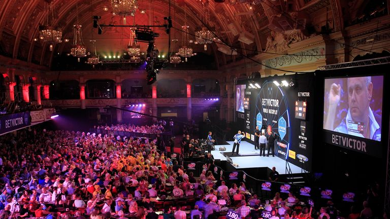 winter gardens blackpool darts