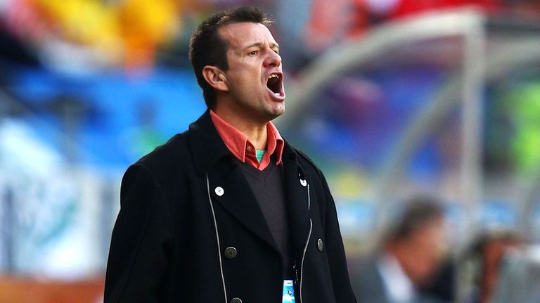 Dunga: Expected to be installed as new Brazil coach on Tuesday
