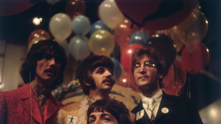 The Beatles. They're quite famous