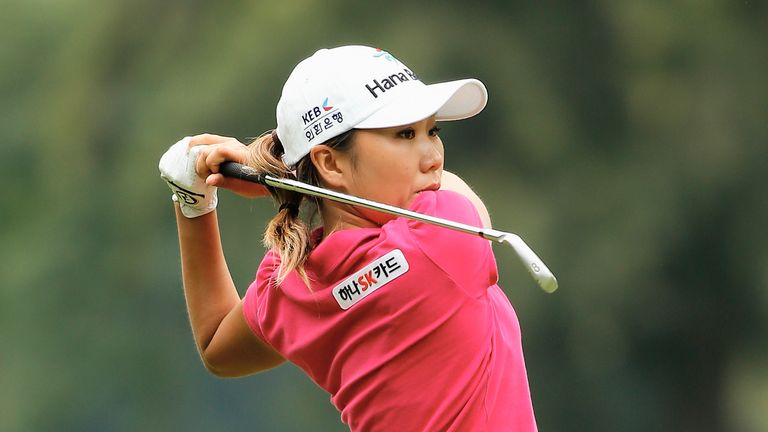I.K. Kim: Nine birdies on a flawless day at The Buckinghamshire