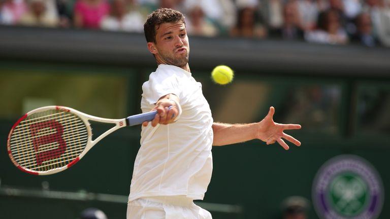 Dimitrov's potent forehand could be the difference against Djokovic