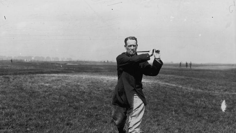 British golfer Harold Horsfall Hilton (1869 - 1942)