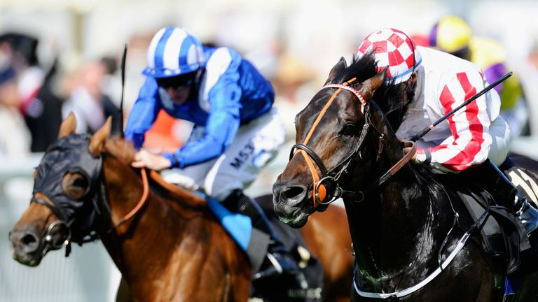 Aljamaaheer (left): Can finally show his worth as a top-class sprinter