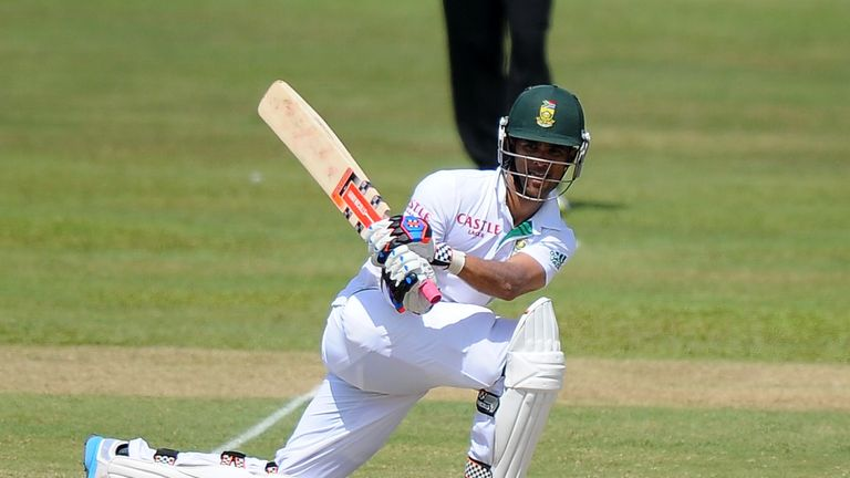 JP Duminy: Hit 100 not out batting with the tail to guide South Africa past 450