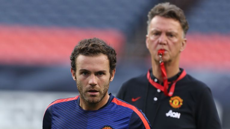 Juan Mata: Backed Louis van Gaal to succeed at Manchester United