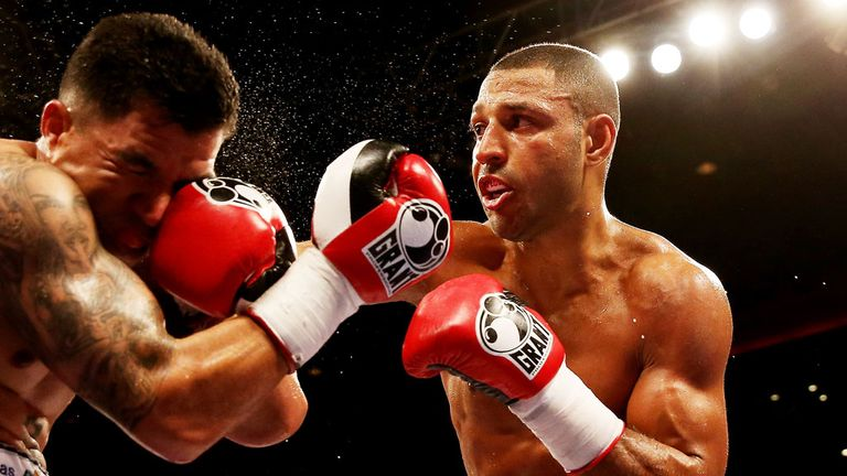 Kell Brook: The Sheffield fighter is unbeaten so far in his professional career, clocking up 32 wins