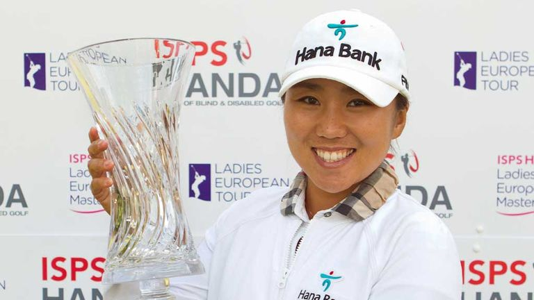 In-Kyung Kim: Winner at The Buckinghamshire on Sunday