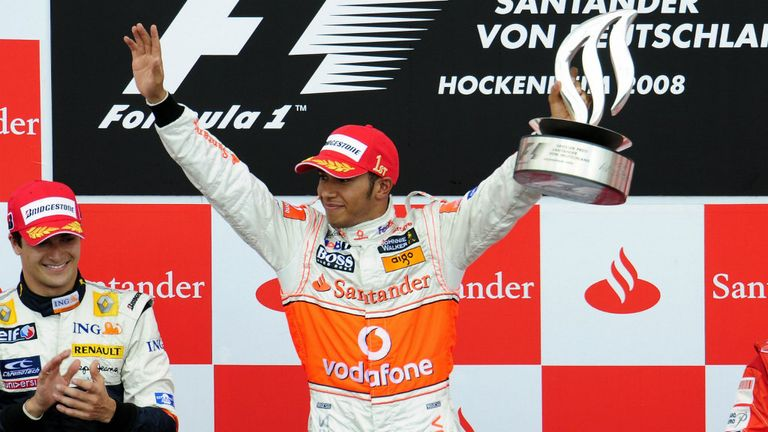 A lesson from history? In his 2008 title-winning year, Lewis Hamilton claimed back-to-back wins at Silverstone and Hockenheim