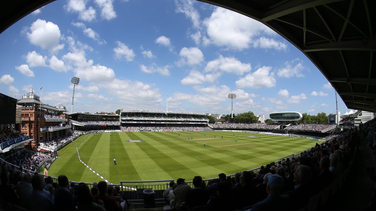 Royal London One-Day Cup: Lord's will host the final on September 20