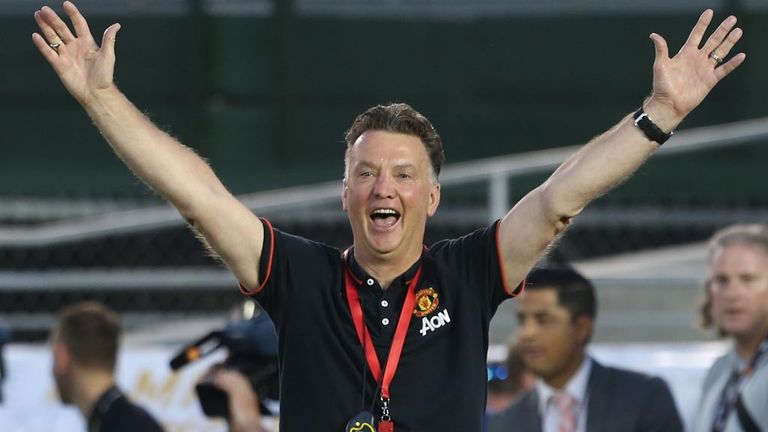 Manchester United Boss Louis Van Gaal Has Found Early