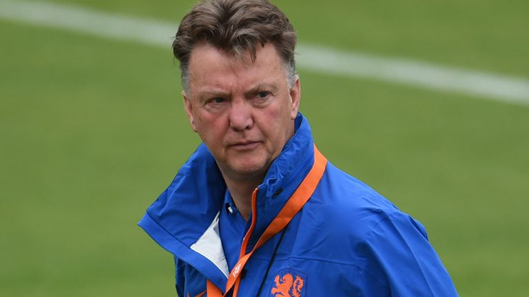Louis van Gaal: Ready to get to work with Manchester United