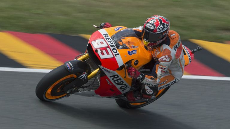 Marc Marquez: The impeccable Spaniard made it nine wins from nine in Germany