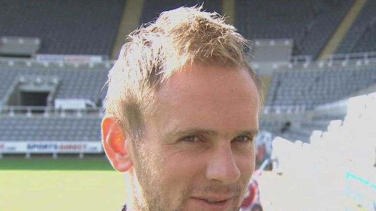 Siem de Jong: Ready to take on a forward role for Newcastle United