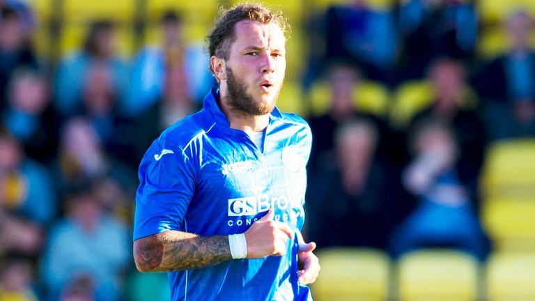 Stevie May: St Johnstone striker ready to return in Slovakia