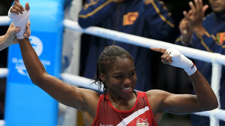 Nicola Adams: Excited to fight in front of big crowd