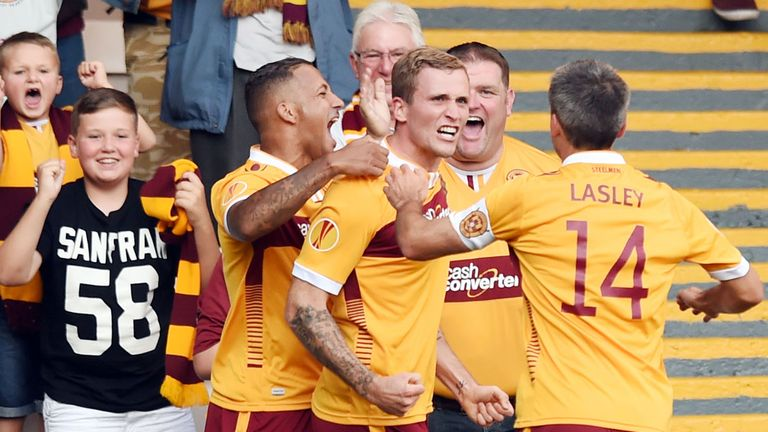 Josh Law: Scored twice on his Motherwell debut
