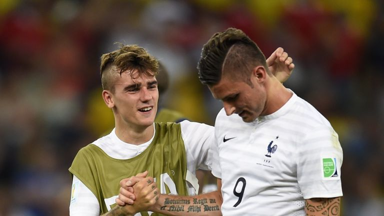 Olivier Giroud (R): Was dropped in favour of Antoine Griezmann