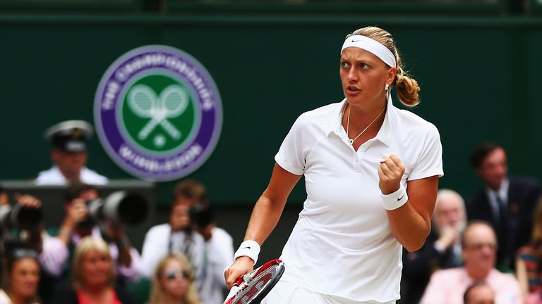 Petra Kvitova: Two-time Wimbledon champion