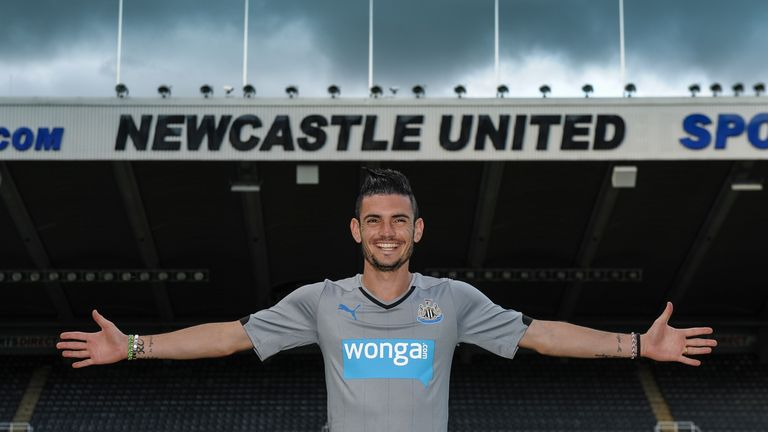 Remy Cabella: Unveiled at Newcastle