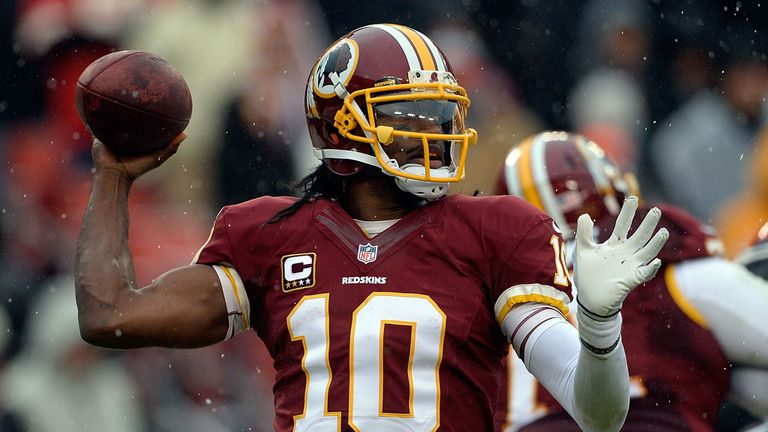 Robert Griffin III: Will hope to return to the type of form he displayed in his rookie campaign