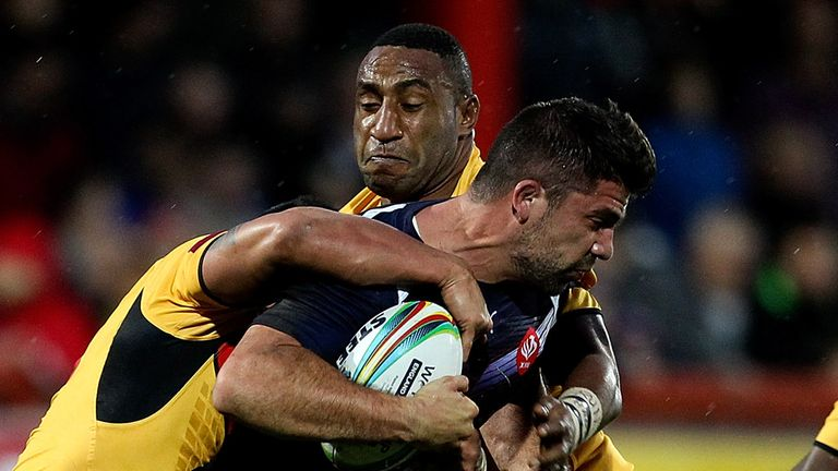 Mickael Simon is joining Wakefield on a two-year deal for 2015