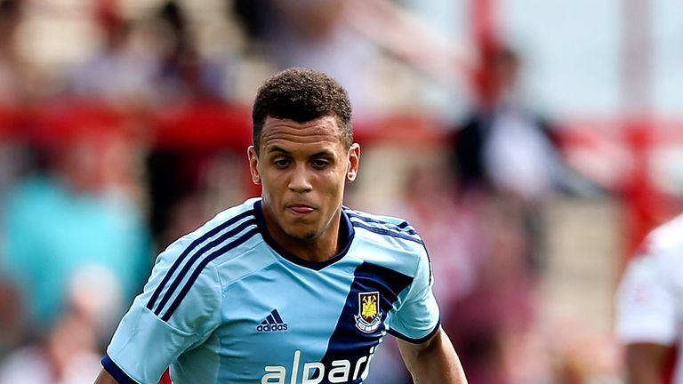 Ravel Morrison of West Ham has appeared in court to answer assault charges.
