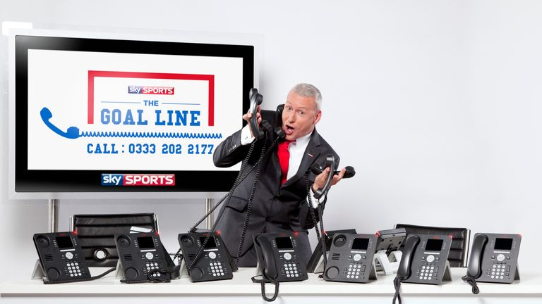 GoalLine: Jim White is waiting for your call...