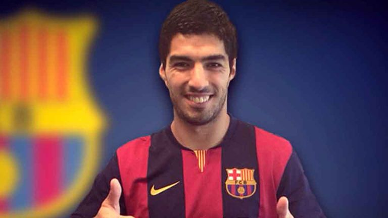 Luis Suarez: On his way to Barcelona