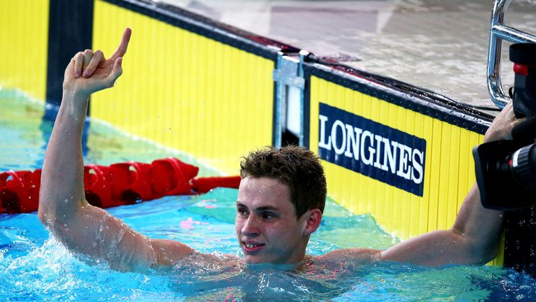Ben Proud: Commonwealth Games record in winning 50m butterfly title