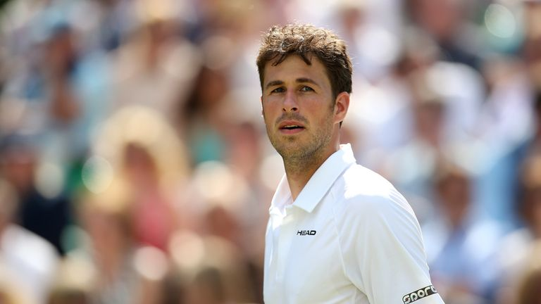 Robin Haase: Taken to three sets in Gstaad