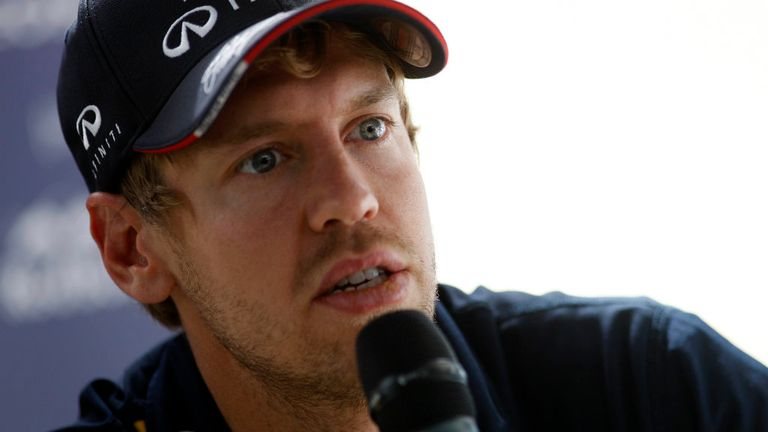 Sebastian Vettel: Birthday boy backing Renault