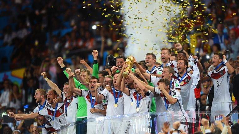 Germany: Four-time winners after becoming the first team to score seven in a semi-final