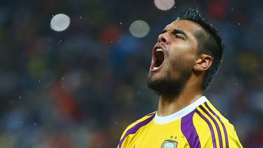 Sergio Romero: Impressed at the World Cup for Argentina