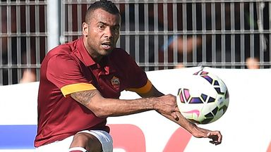 Ashley Cole: Happy at Roma