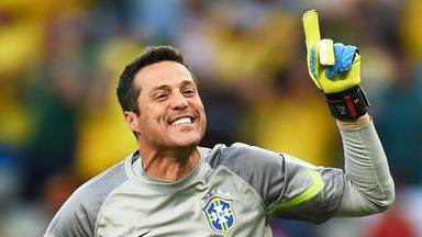 Julio Cesar: Featured in all seven of Brazil