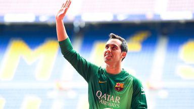 Claudio Bravo: Looking forward to the challenge at Barcelona